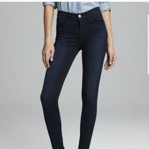 J Brand Atmosphere Skinny Dark Wash Jean's Size 29